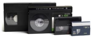 VHS- Videos, diese kopieren wir Ihnen auf digitalte Medien- Udos-digiscan.