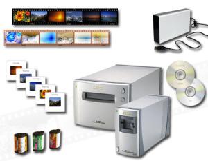 Der Scanvorgang bei Udos-digiscan mit unserem Nikonscanner